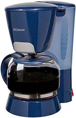 Bomann KA 167 CB, Azul, 870 W, 230 V, 50 Hz, CE - Máquina de café: Amazon.es: Hogar