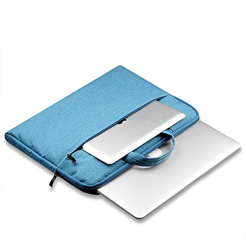FuriGer 15 Inch Laptop Sleeve Case, 15-15.4 Inch Laptop Protective Case Bag 15 Inch Macbook/MacBook Pro Retina 15.4-inch MacBook/Laptop-Blue by FuriGer (Image #2)