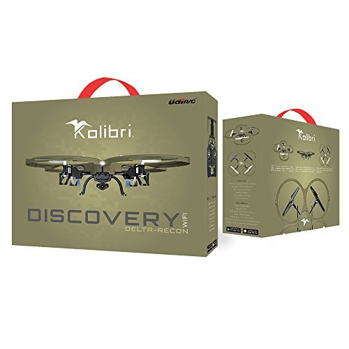 Kolibri Discovery Delta-Recon U818A WiFi FPV Quadcopter Drone Tactical Edition Military Matte Green UDI RC **EXTRA BATTERY INCLUDED**, Best Real Dolls