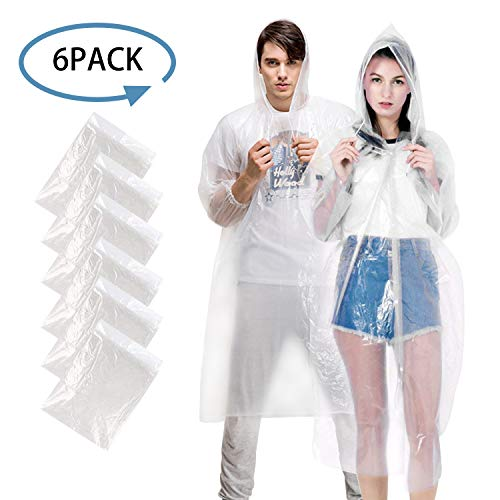 GYORGKSHI Disposable Rain Ponchos.