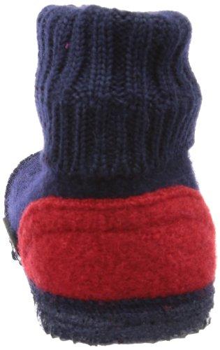 Giesswein Keltern - Pantuflas de lana niño azul - Blau (ocean 588)