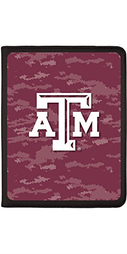 - Texas A&M Emblem on Camo design on Black 2nd-4th Generation iPad Swivel Stand Case