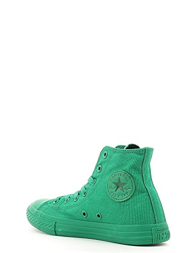 Junior high 352701C CONVERSE ALL zapatillas de deporte estrella de la lona HI Verde