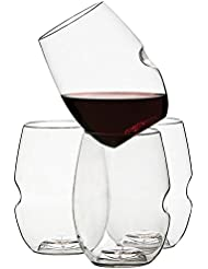 Govino Shatterproof Stemless Wine Glasses
