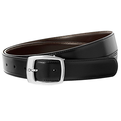 Mont-Blanc-Mens-Classic-Reversible-Belt-BlackBrown-One-Size