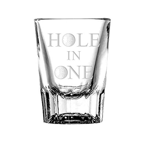 Hole in One Golf Shot Glass (Best Hole In One Golf Shots)
