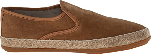 Base London Sonore Mens Daim Cuir Espadrille Flâneurs Tan 44