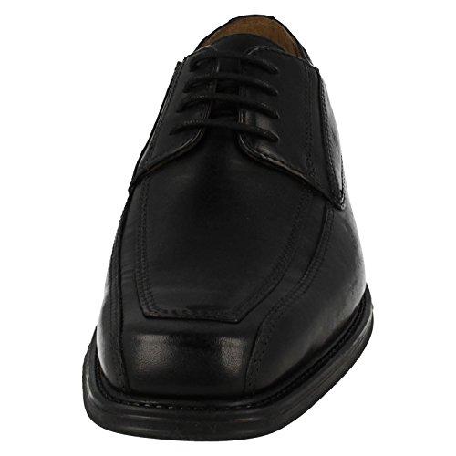 Clarks Classique Homme Chaussures Driggs Walk En Cuir Noir