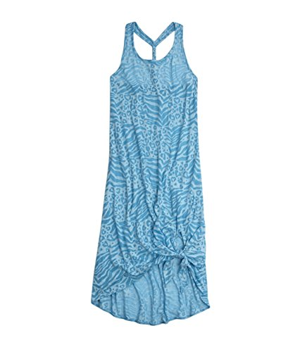 Justice Girls Animal Maxi Burnout Cover-Up Swimsuit 699 5