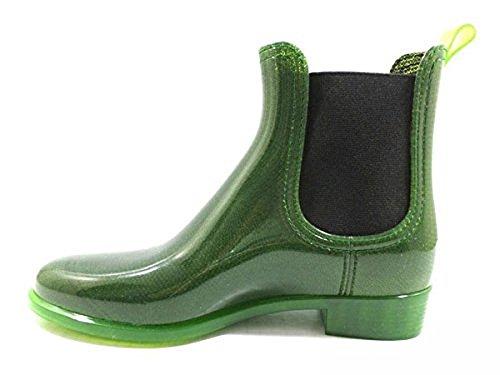 Zapatos Mujer JEFFREY CAMPBELL 40 EU Botines Verde Caucho KY475