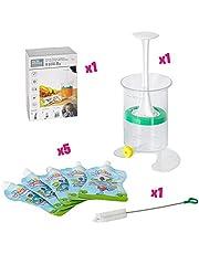 Fill n Squeeze, Sistema bolsas de destete, alimentos bebés, refrigerios y viajes