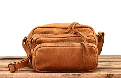 pleine CHARLIE bandoulière buffle petit sac de cuir style Vintage fleur MARIUS Sable PAUL en LE 4zB1B