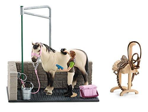 Schleich Horse Wash Area - Horse Corral
