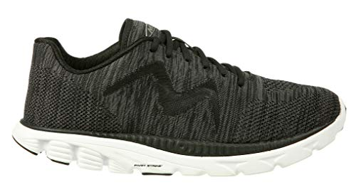 MBT Shoes Men's Speed Mix Athletic Shoe: Black/Grey/Mesh 11 Medium (D) - Speed Mix