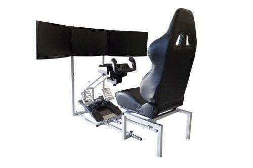 Gtr Flight Simulator Seat Crj Model With Adjustable