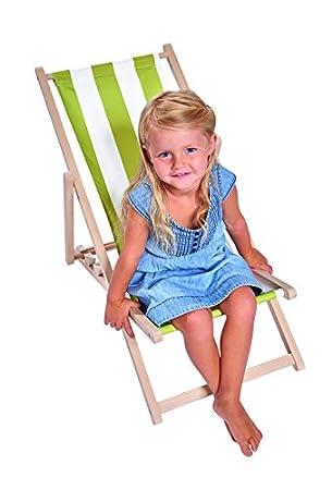 Kinder Sonnenstuhl.Eichhorn 100004546 Kinder Sonnenstuhl Stoff Mit Uv Beschichtung Sitzbreite 30cm Verstellbar Bis 40 Kg Belastbar Buchenholz