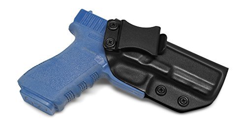 Concealment Express IWB KYDEX Holster: fits GLOCK 20 21 - Custom Fit - US Made - Inside Waistband - Adj. Cant/Retention (BLK, Right)