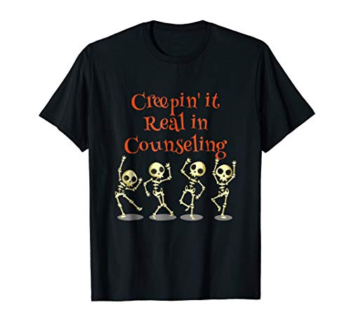 Counselor Creepin' it Real HALLOWEEN School Counseling Shirt