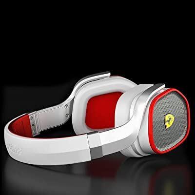 Ferrari Scuderia R300 Active Noise-Cancelling Headphones - White