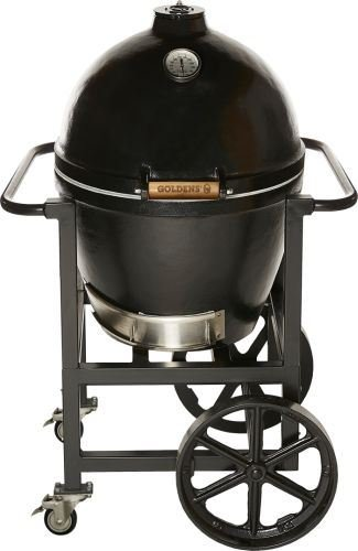 Golden's Cast Iron 13546 Cooker with Handle Cart - 20.5''