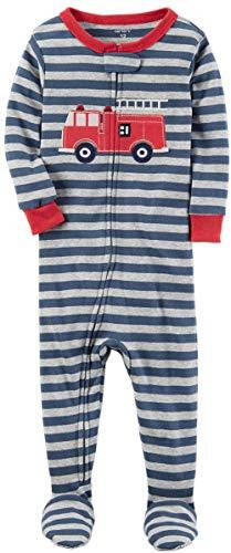 Carter's Boys' 12M-4T One Piece Firetruck Print Cotton Pajamas 18 Months