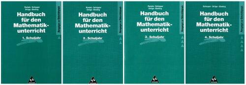 Handbücher für den Mathematikunterricht 1. bis 4. Schuljahr: Handbuch für den Mathematikunterricht an Grundschulen: Bände 1. - 4. Schuljahr im Schuber