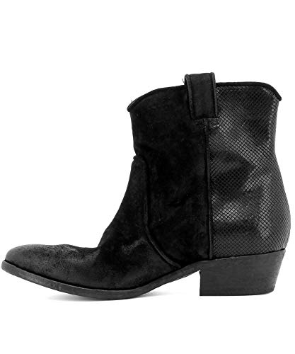 Ankle Boots Suede Strategia Black Women's E1217roxanaisako pqHOHB