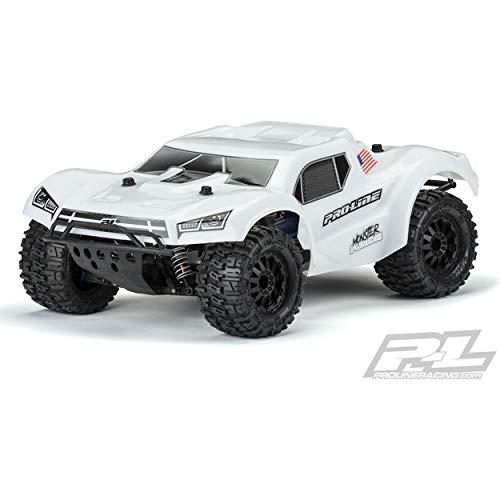 (Pro-line Racing Pre-Cut MT Fusion Bash Armor, White, with 2.8 MT Tire: Slash 2/4WD, PRO349815)