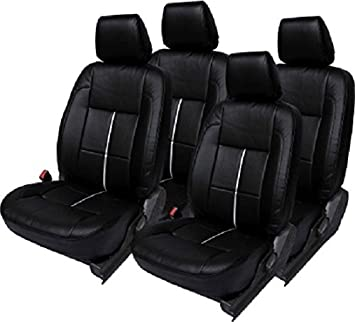 Khushal Leatherite Car Seat Covers Premium Quality Designer Front And Back Cover Set For Maruti