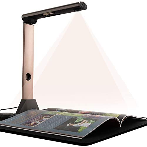 chollos oferta descuentos barato Escáner de Libros y Documentos Bamboosang X7 Cámara de Documentos Portátil de Alta Definición de 15MP Aplanado y Alineado Automático Tamaño de Captura A3 OCR Multilingüe USB SDK y Twain