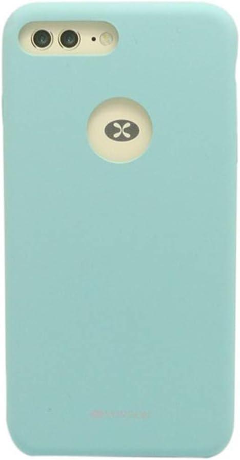 VORSON VC-005 iPhone 7 Plus Rubber Silicone Metal Plated Case Sea Blue, iPhone 7 Plus Case, iPhone 7S Plus Case, iPhone Case, iPhone Case Types, Impact Resistant