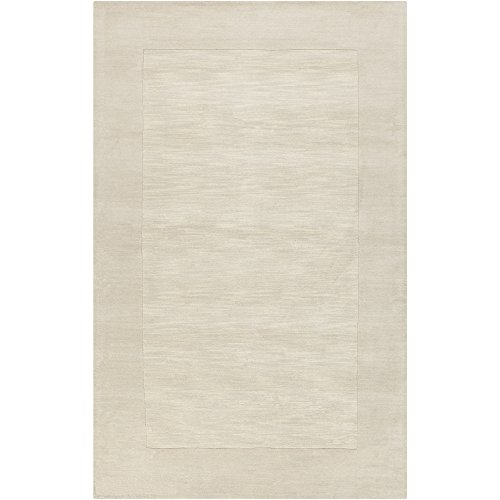 - Surya Mystique M-348 Transitional Hand Loomed 100% Wool Winter White 2' x 3' Accent Rug