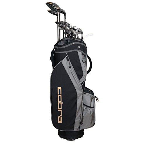 Cobra Flyz S Men's 13Pc Right Hand Lite Flex Complete Set, Black -  Cobra-Puma Golf, 6407RGACS13