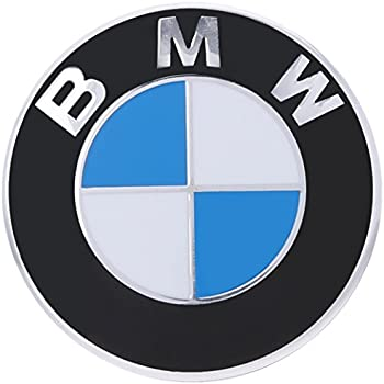 Amazon Com Bmw Genuine Hood Roundel Emblem 82 Mm For All Model Except Z4 Fits Most Trunk See