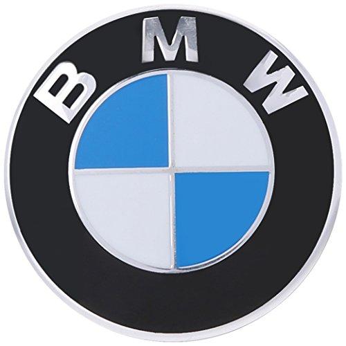 BMW Genuine Hood Roundel Emblem 82 mm for All Model Except Z4 Fits Most Trunk See Description