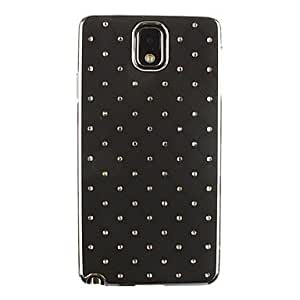 LHY All Over The Sky Star Pattern Full Body Case for Samsung Galaxy Note 3 (Assorted Colors) , Black
