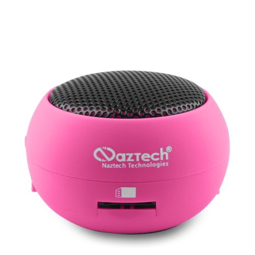 Naztech N15 3.5mm Mini Boom Speaker with SD Card Slot for WM
