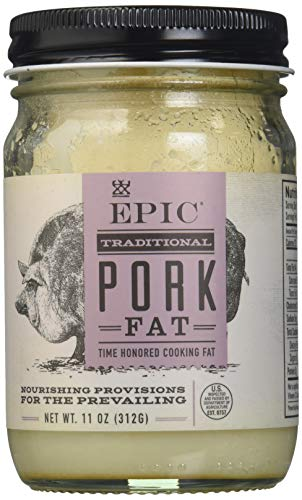 Epic Animal Oil, Pork Lard, 11 oz ()