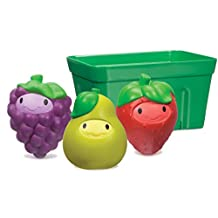 Munchkin Squirt and Strain Fruit Basket, Red/Yellow/Purple/Green