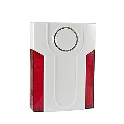 Alarma Principal - MD md-334r - Exterior Alarma Sirena ...