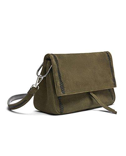 Green Suede Bag Zara - 1