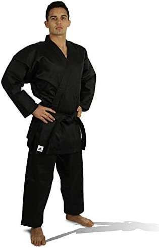 Black Karate Gi Trousers For AdultsLightweight 100/% Cotton