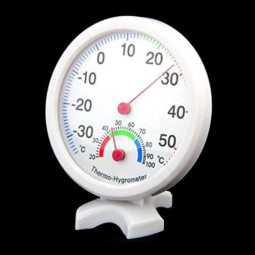 SODIAL(R) Higrometro Termometro Medidor de Humedad Temperatura Interior Exterior - Azul: Amazon.es: Industria, empresas y ciencia