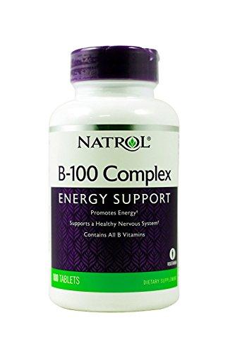 Natrol B 100 Complex 100 tablets