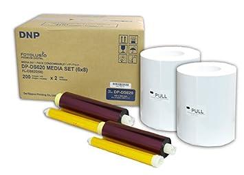 DNP Ribon para Impresora DS620 tamaño 10 x 15/15 x 20 ...