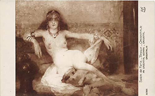 Nude Postcard An Oriental Woman Unused