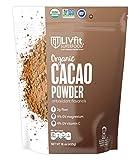 LIVfit Superfood Organic Cacao Powder — 100% Raw Organic Cacao...