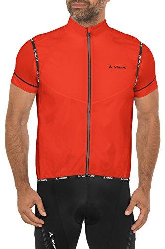 VAUDE Herren Weste Air Vest II, Glowing Red, L, 04606