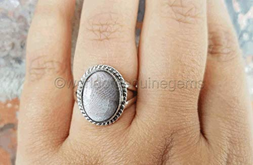 Genuine Fossil Coral - Fossil coral ring, semi precious woman ring, 925 sterling silver, antique ottoman middle east style jewelry, huge women ring, filigree design ring, statement ring, woman ring, anniversary gift ring