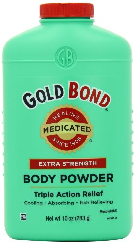 Gold Bond Medicated Powder, 10 Ounce Container (Pack of 3)
